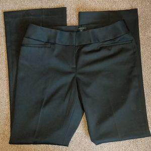 Black Slacks Trousers